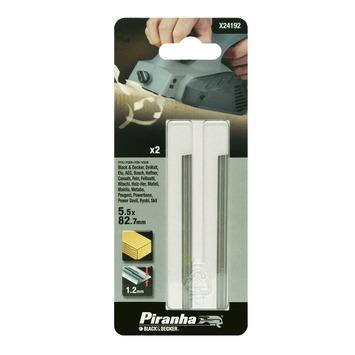Piranha HSS schaafbeitel hout 2 stuks X24192