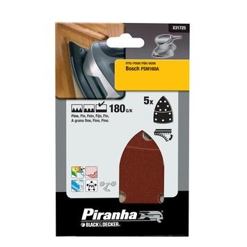 Piranha Bosch PSM schuurstrook K180 5 stuks X31725
