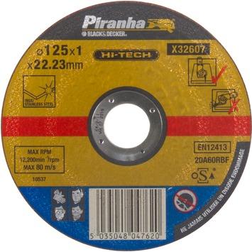 Piranha HI-TECH doorslijpschijf RVS 1x115 mm X32607
