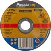 Piranha HI-TECH doorslijpschijf metaal 1x125 mm X32637
