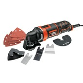 Black+Decker oscillerende multitool MT300KA-QS 300W