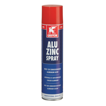 Griffon alu zinc spray 400 ml