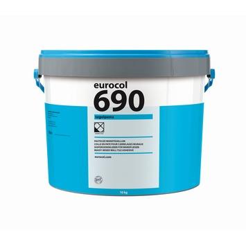 Eurocol 690 pasta tegellijm gebroken wit 16kg