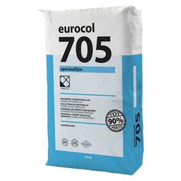 Eurocol 705 speciaal poedertegellijm grijs 25 kg