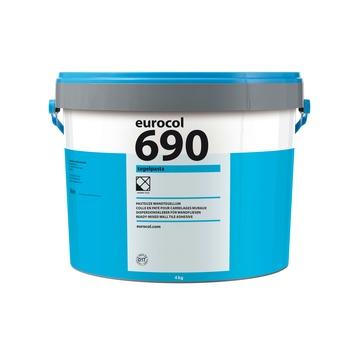 Eurocol 690 pasta tegellijm gebroken wit 4 kg