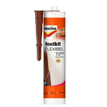 Alabastine flexibele houtkit naturel 300 ml