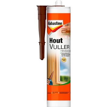 Alabastine houtvuller koker naturel 310 ml