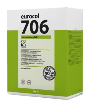 Eurocol 706 speciaal voegmortel wit 5 kg
