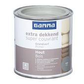 GAMMA Extra Dekkend grondverf hout grijs 250 ml