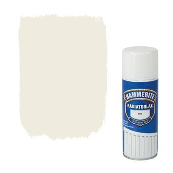 Hammerite radiatorlak spuitbus wit hoogglans 400 ml