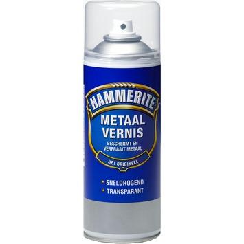 Hammerite metaalvernis transparant hoogglans 400 ml