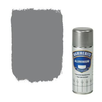 Hammerite metaallak spuitbus aluminium hoogglans 400 ml