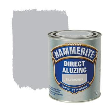 Hammerite Direct AluZinc metaallak zilvergrijs 750 ml