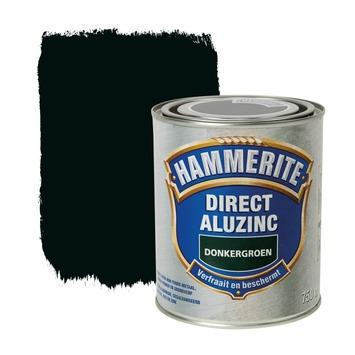 Hammerite Direct AluZinc metaallak donkergroen 750 ml