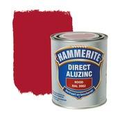 Hammerite Direct AluZinc metaallak rood 750 ml