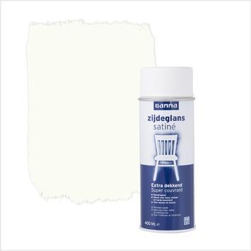 GAMMA spuitlak RAL 9010 gebroken wit zijdeglans 400 ml