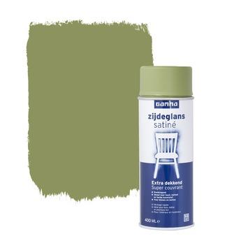 GAMMA spuitlak olijf groen zijdeglans 400 ml