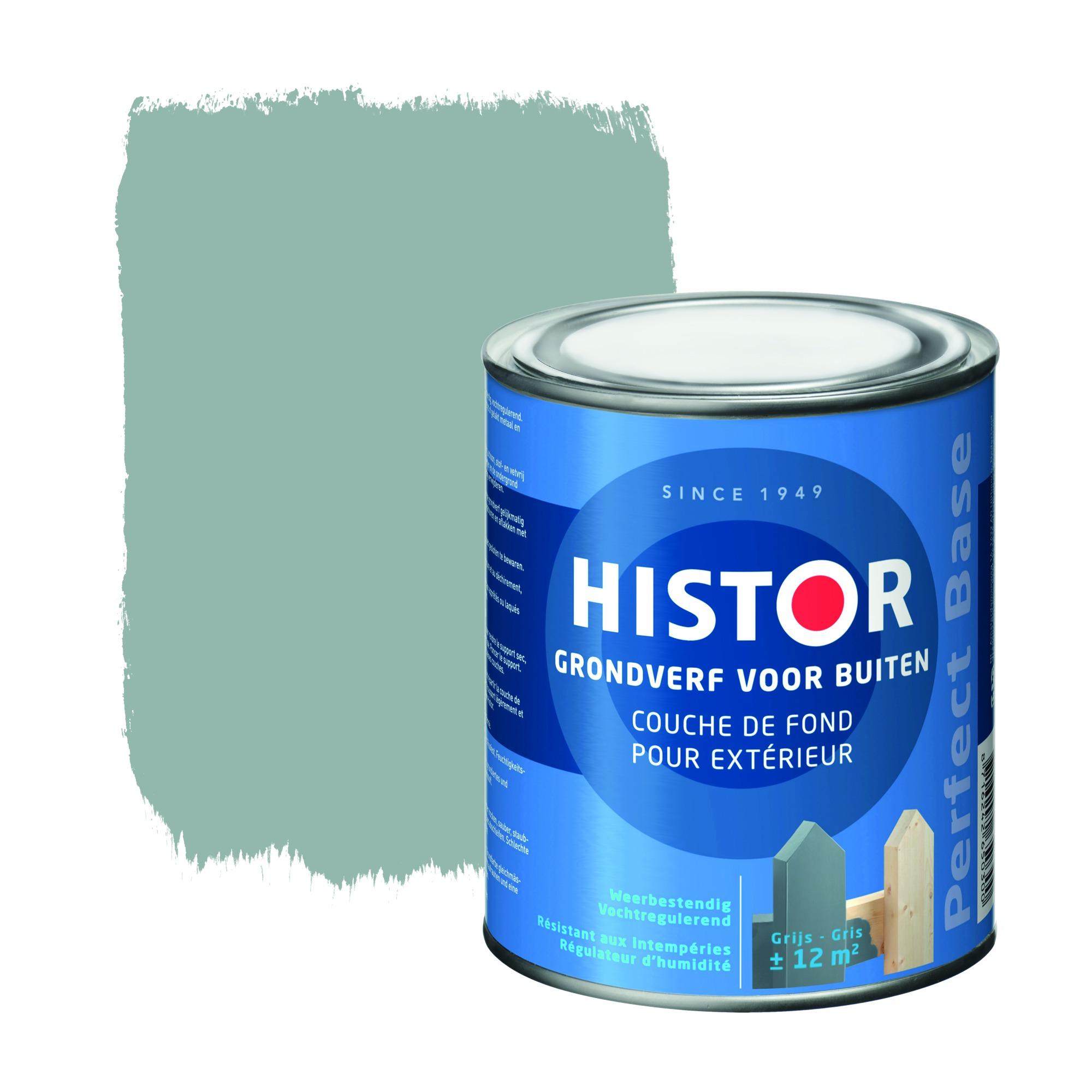 Histor perfect base grondverf buiten alkyd grijs 750 ml