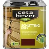 CetaBever schuttingbeits lichtbruin 2,5 liter