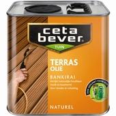 CetaBever terrasolie bankirai kleurloos 2,5 liter