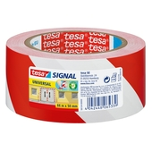Tesa waarschuwingstape rood/zwart