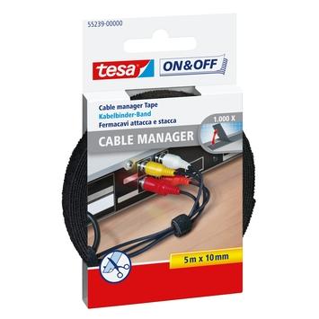 Tesa kabelmanager universeel 10 mm 5 meter