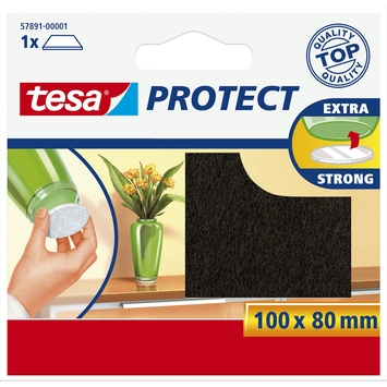 Tesa vilt 8x10 cm bruin