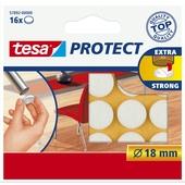 Tesa vilt diameter 18 mm rond wit 16 stuks