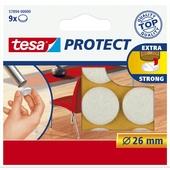 Tesa vilt diameter 26 mm rond wit 9 stuks
