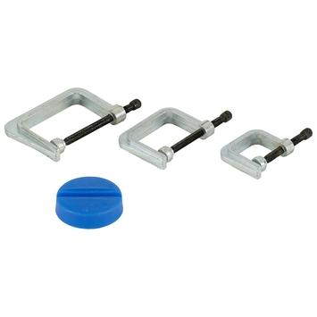 GAMMA lijmklem regelbaar met magneetvoet