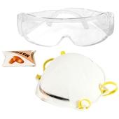 GAMMA veiligheidsset bril-masker-oordoppen
