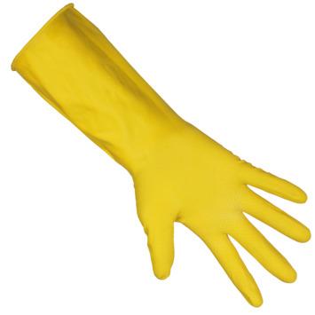 Huishoudhandschoen geel maat M