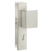 GAMMA veiligheidsbeslag knop/kruk aluminium 72 mm