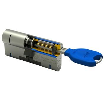 GAMMA veiligheidscilinder 32/32 mm SKG 3-sterren gelijksluitend (2 stuks)