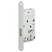 Kastslot met witte slotplaat incl. sleutel