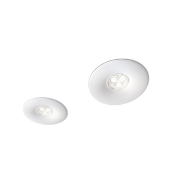 Philips buitenspot Pebble LED 2X7.5W 10.7V wit