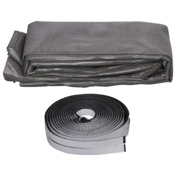 Klittenband horgaas zonwerend S300 130x150 cm