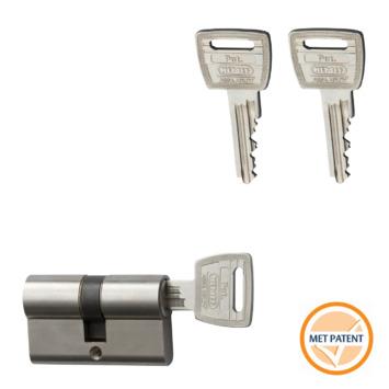 Nemef veiligheidscilinder NF3+ 30/30 mm SKG 3-sterren