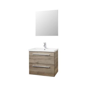 Atlantic badmeubel Sienna hout 60cm met spiegel