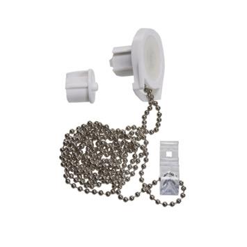 Mechanisme wit met aluminium ketting