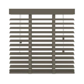 GAMMA horizontale jaloezie hout 50 mm 946 taupe 60x220 cm