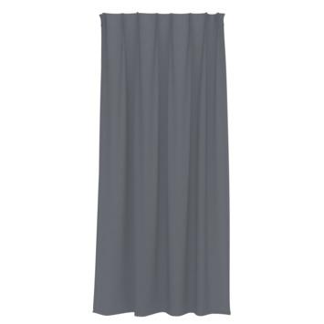 GAMMA kant en klaar gordijn plooiband lichtdoorlatend 1154 donker grijs 140x280 cm