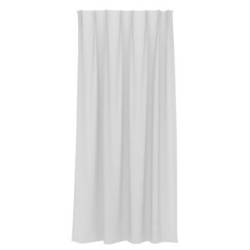 GAMMA kant en klaar gordijn plooiband lichtdoorlatend 1155 wit 140x180 cm