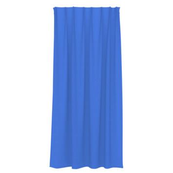 GAMMA kant en klaar gordijn plooiband lichtdoorlatend 1161 blauw 140x180 cm