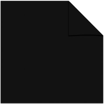 GAMMA kant en klaar gordijn plooiband 1167 zwart 1400x2800 mm