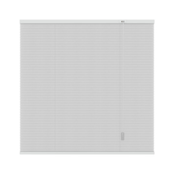 GAMMA plissé dupli lichtdoorlatend 6001 wit 120x220 cm