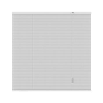 GAMMA plissé dupli lichtdoorlatend 6001 wit 140x220 cm