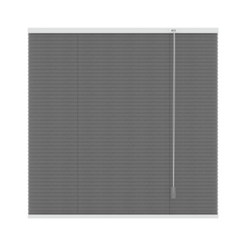 GAMMA plissé dupli lichtdoorlatend 6003 antraciet 160x180 cm