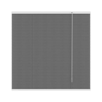 GAMMA plissé dupli lichtdoorlatend 6003 antraciet 180x180 cm