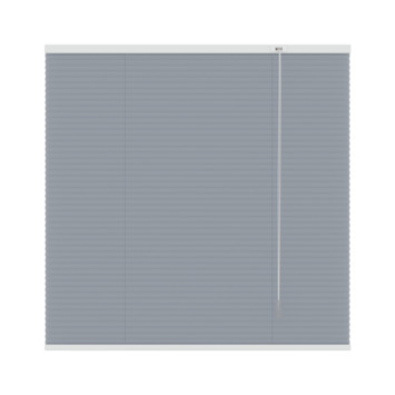 GAMMA plissé dupli lichtdoorlatend 6016 grijs 160x180 cm